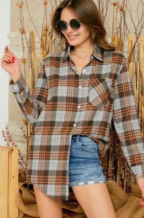 Women's Fall Flannel