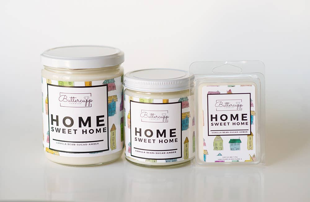 Buttercupp Candles • Home Sweet Home