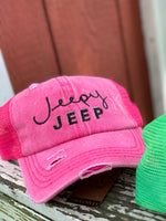 Load image into Gallery viewer, Jeepy Jeep Cap