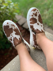 Dixie Cowhide Sneakers
