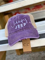 Load image into Gallery viewer, Regular Style Jeepy Jeep Cap