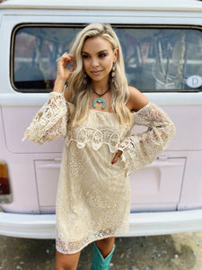 Gypsy Gold Dress
