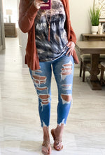 Load image into Gallery viewer, Josie Mid-Rise Distressed Skinny Jeans