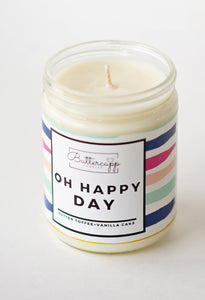 Buttercupp Candles • Oh Happy Day