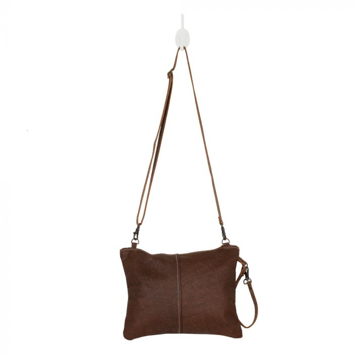 MYRA BAG • The Wanderer Leather & Hairon Bag