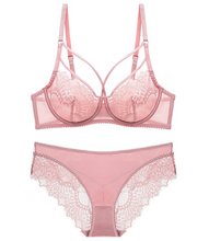 Load image into Gallery viewer, Barb Lace Bra with Under-Wired Soft Cup Bra