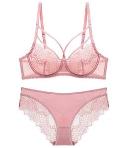 Barb Lace Bra with Under-Wired Soft Cup Bra