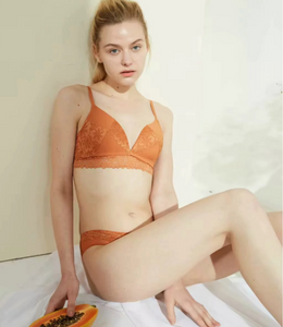 Andra Athlète Lace-Trimmed Stretch-Jersey Soft-Cup Bralette