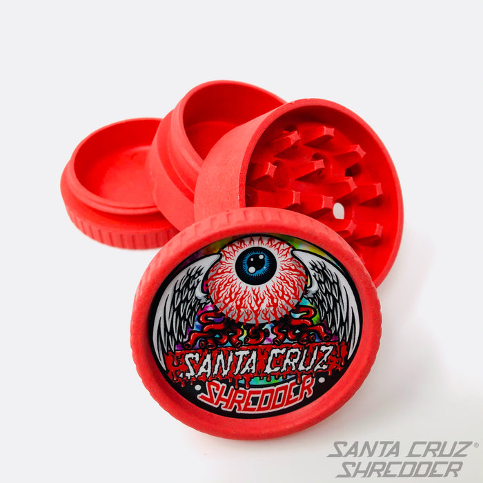 Eye Ball Santa Cruz Hemp 4pc Shredder
