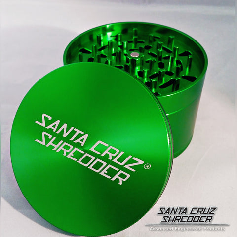 Jumbo 4-piece Green Shredder