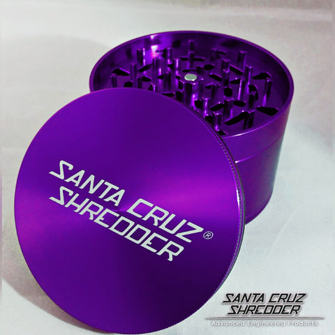 Jumbo 4-piece Purple Shredder