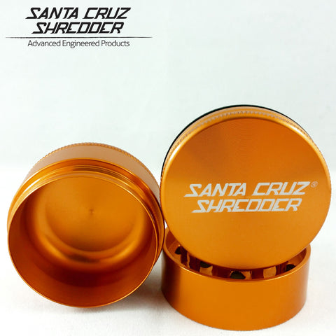 Large 3 Piece Shredder - Orange