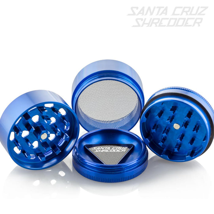 Medium 4 Piece Blue Cookies Shredder