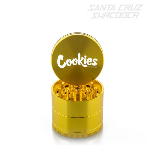 Medium 4 Piece Gold Cookies Shredder