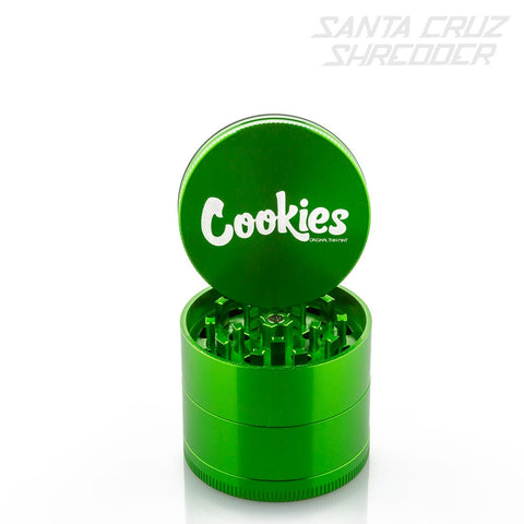 Medium 4 Piece Green Cookies Shredder