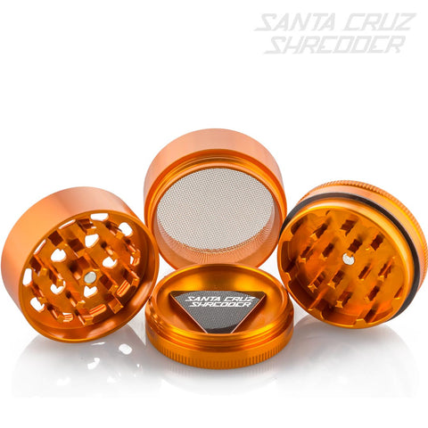 Medium 4 Piece Orange Cookies Shredder