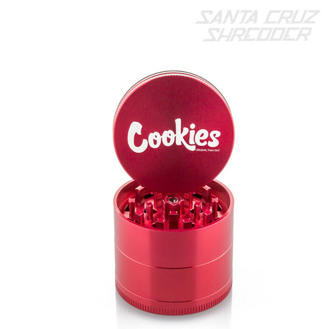 Medium 4 Piece Red Cookies Shredder