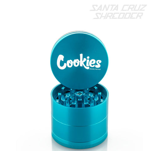 Medium 4 Piece Teal Cookies Shredder