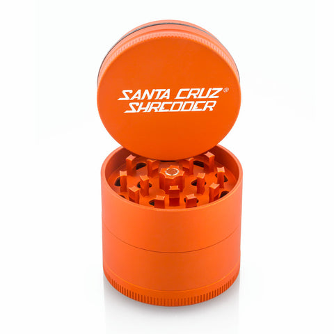 Medium 4 - Piece Orange Shredder