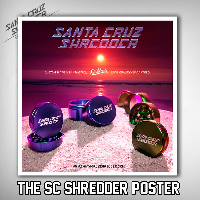 THE SC SHREDDER POSTER