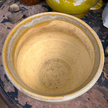 Load image into Gallery viewer, Vintage Glazed Earthtone Stoneware Planter 6""