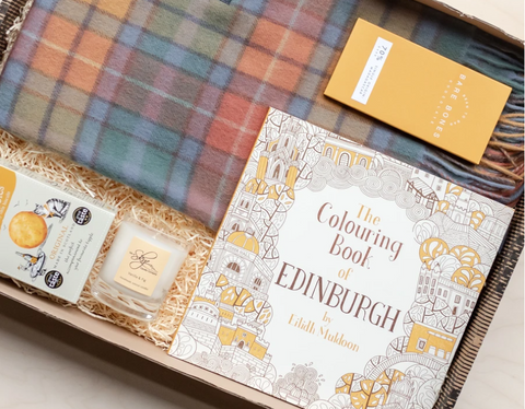 Scottish themed gift box