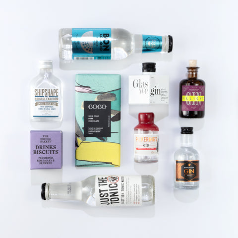 Miniature Gin Selection Box - Limited Edition