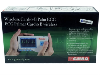 ECG Palmare Cardio B Bluetooth + software