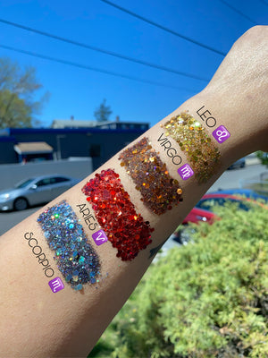 Zodiac Glitter Collection Bundle 🔮✨