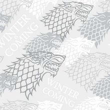 Load image into Gallery viewer, Game of Thrones Winter is Coming Face Mask 3 Layers - Kids and Adult sizes - maskincanada