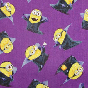 Minions Face Mask 3 Layers - Kids and Adult sizes - Face Masks Made in Canada -Masques en tissu fait a quebec