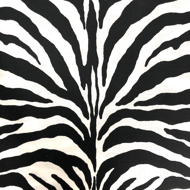 Zebra Face Mask 3 Layers - Kids and Adult sizes - Face Masks Made in Canada -Masques en tissu fait a quebec
