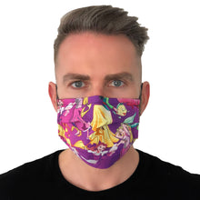 Load image into Gallery viewer, Disney Princess Face Mask 3 Layers - Kids and Adult sizes - Face Masks Made in Canada -Masques en tissu fait a quebec
