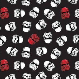 Star Wars Storm Troopers Face Mask 3 Layers - Kids and Adult sizes - Face Masks Made in Canada -Masques en tissu fait a quebec