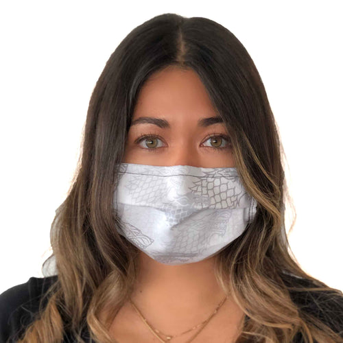 Game of Thrones Winter is Coming Face Mask 3 Layers - Kids and Adult sizes - Face Masks Made in Canada -Masques en tissu fait a quebec