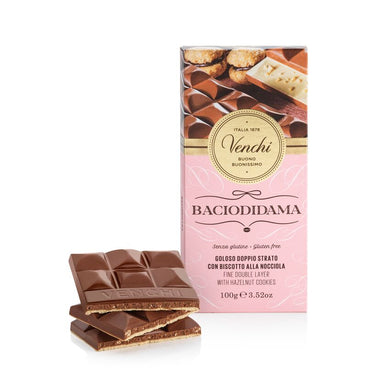 Milk chocolate Gianduia BacioDiDama Bar 100G
