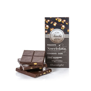 Dark Chocolate Hazelnut Bar Chocolight 100G