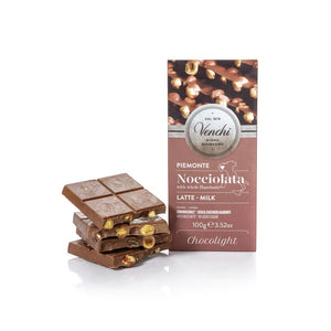 Milk Chocolate Hazelnut Bar Chocolight 100G