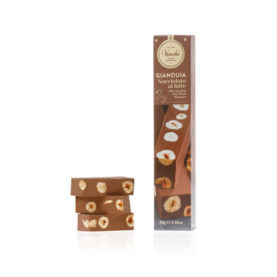 Gianduja With hazelnuts Soft Bar 80G