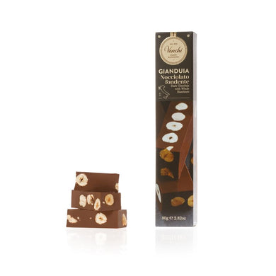 Dark Gianduja With Hazelnuts Soft Bar 80G