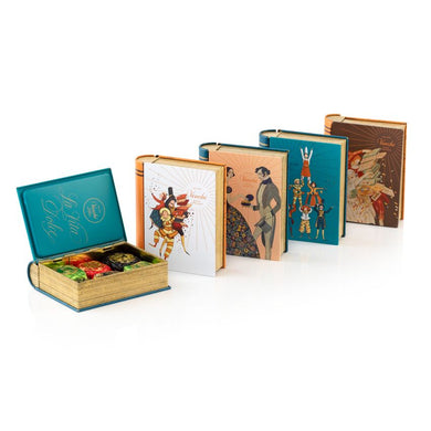 Assorted 6 pcs Cubotti Chocoviar Metal Mini Book