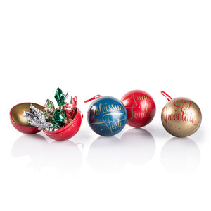 Gold Christmas Bauble Tin 50G