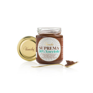 Suprema Chocolate Spread 50% Hazelnuts Gianduja 250G