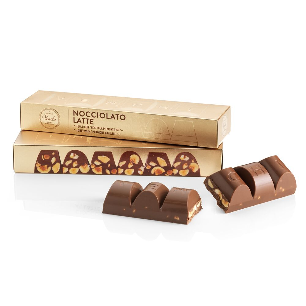 Milk Chocolate with Hazelnut Mini Block 175G