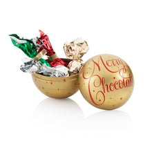 Load image into Gallery viewer, Gold Christmas Bauble Tin 50G