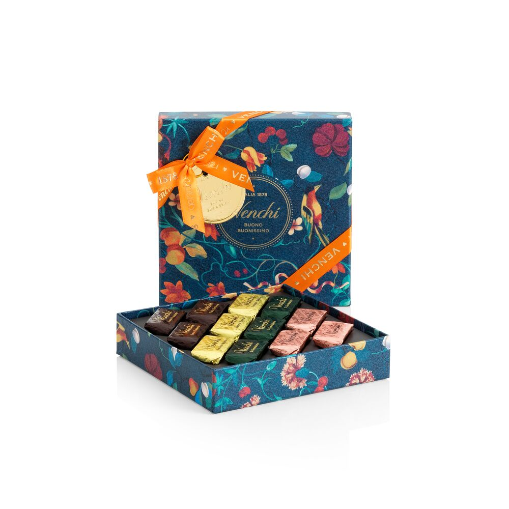 Assorted Giandujotti Garden Square Box 106G