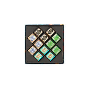 Assorted Cremini Garden Square Box 134G