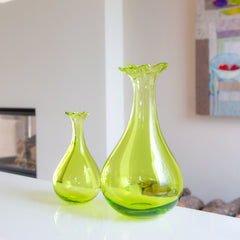 Droplet Vase - North Coast Glass