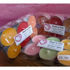 Scented Tealights - Made In Tain