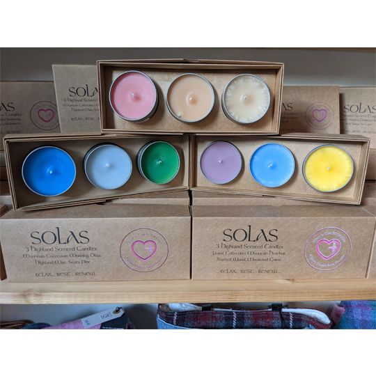 Solas Set of 3 Scented Candles - Made In Tain
